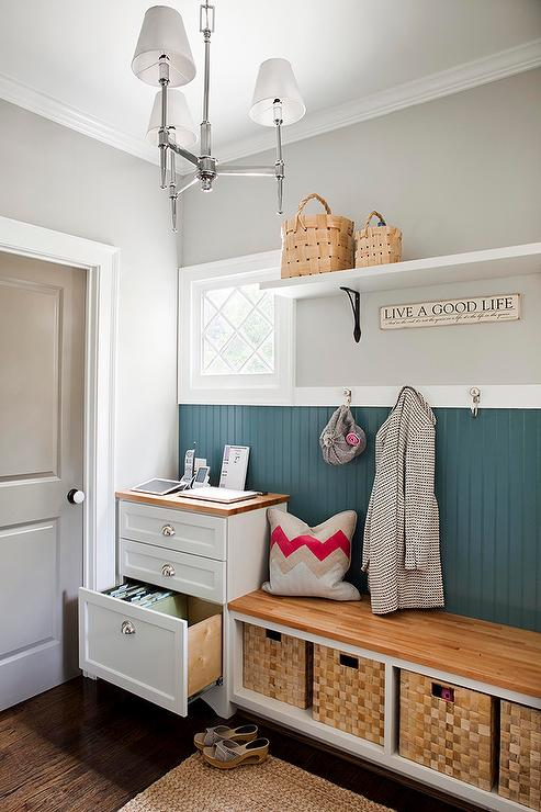 Mud Room Wall Decor : Mud room design contemporary laundry terracotta