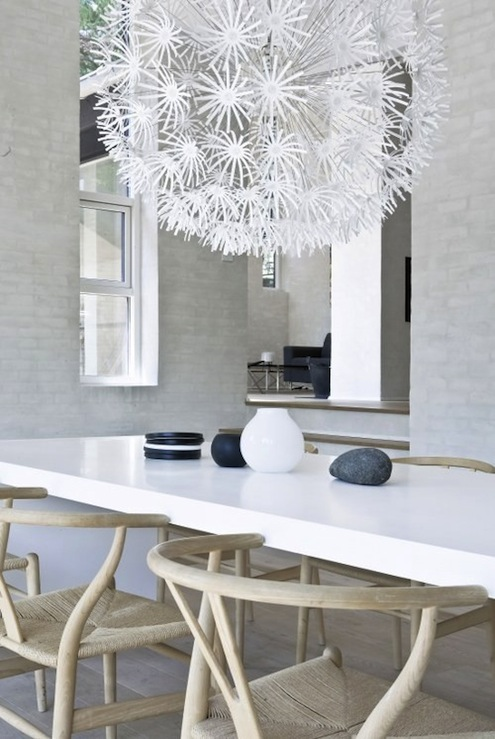 Ikea chandelier modern dining room for Modern chandeliers ikea