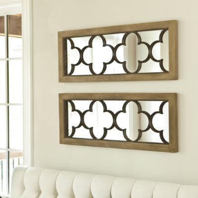 Set Of 2 Quatrefoil Mirrors Swatches Ballard Designs