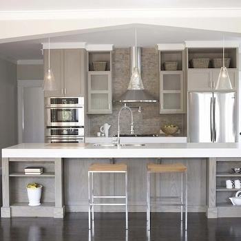 Taupe Kitchen Contemporary Kitchen Sherwin Williams