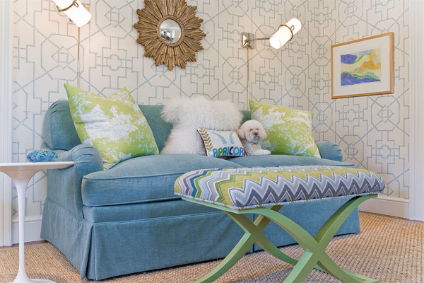 Thibaut Spring Bamboo Lattice Wallpaper