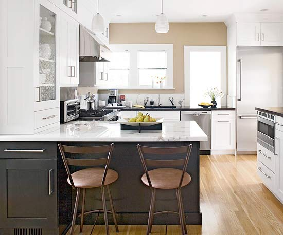 two tone countertops design ideas
