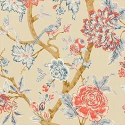 Thibaut Cypress, Pondicherry, Fabric, Natural
