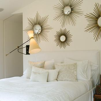 Sunburst Wall Decor, Contemporary, bedroom, Jarlath Mellett