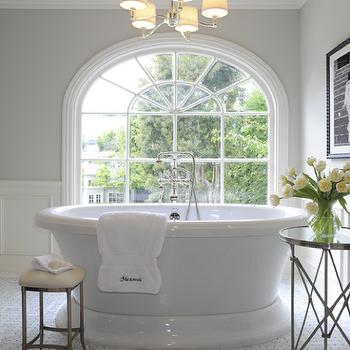 Waterworks Easton Stool, Traditional, bathroom, Jennifer Davis Interior Design