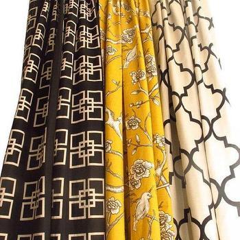Pair Of Decorative Designer Rod Top Drapery Panels84 by nenavon