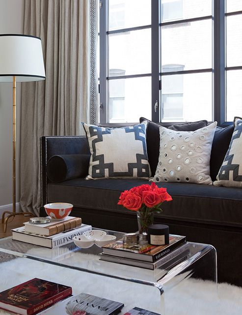 Contemporary Living Room Jenny Wolf Interiors