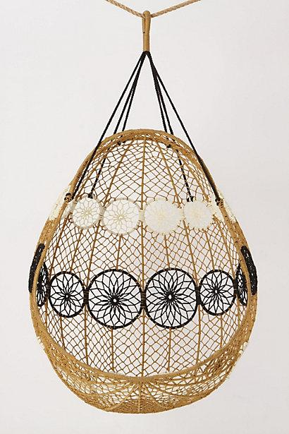 Knotted Melati Hanging Chair Anthropologie