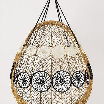 Knotted Melati Hanging Chair   Anthropologie.com