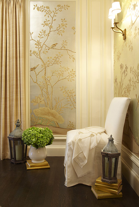 Gold Metallic Wallpaper Design Ideas