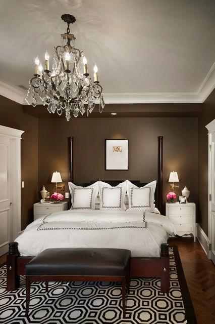 Brown Bedroom - Transitional - bedroom - Rugo / Raff Ltd ...