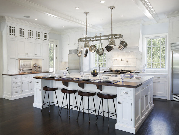 interior design inspiration photos by bakes and company belmont white kitchen island crate and barrel