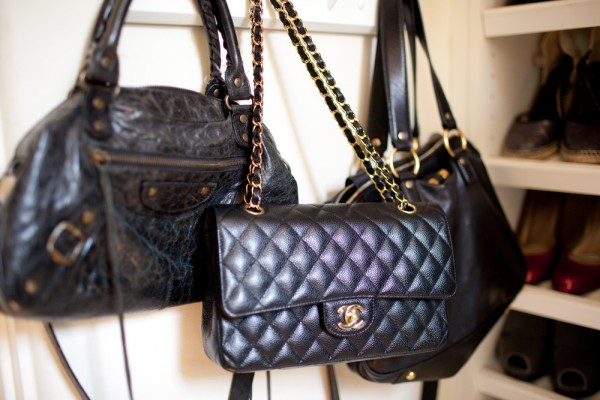 Chanel Classic Flap 2 55 Medium Large Caviar Leather Gold
