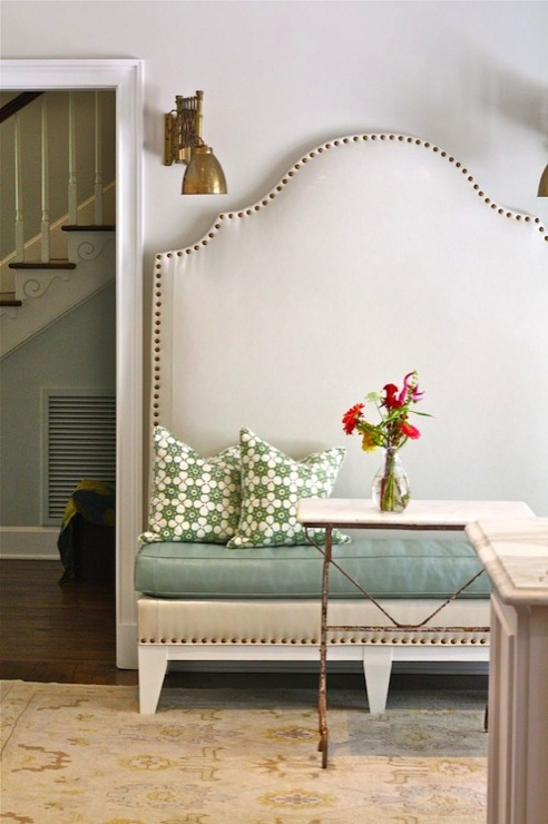 tall dining banquette transitional dining room nest egg