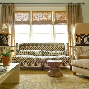 Sofa in Front of Windows, Transitional, living room, Janie Molster Designs