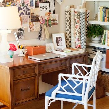 Chinese Chippendale Chair, Transitional, den/library/office, Amanda Teal Design