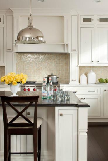 White Kitchen Hardware