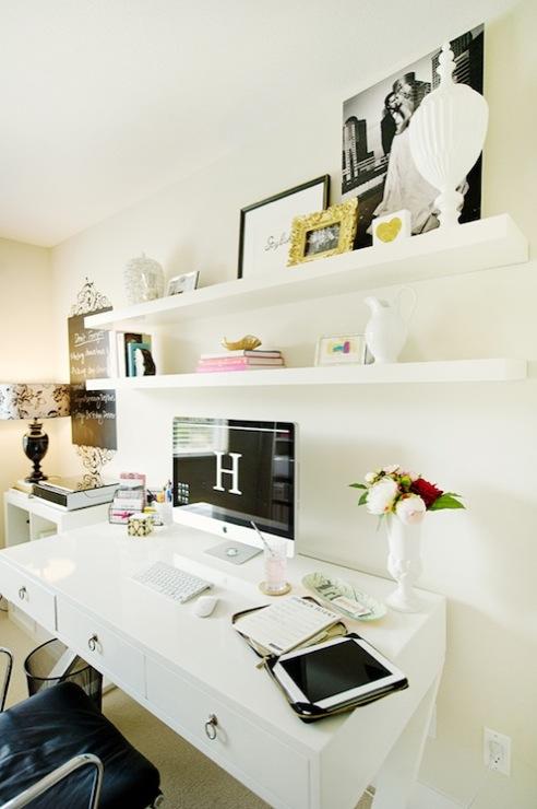Homesense Desk, Contemporary, den/library/office, The Glitter Guide