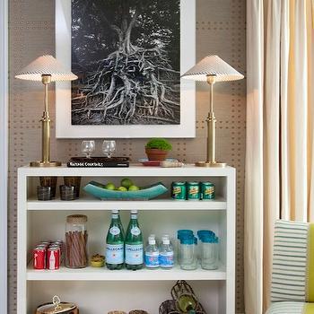 Silver Manila Hemp Wallpaper Design Ideas