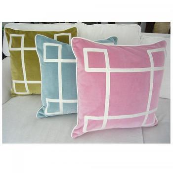Dusty Pink Velvet Regency Pillow