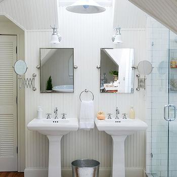 Rectangular Pivot Mirrors Design Ideas