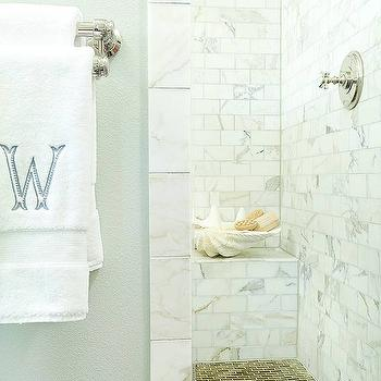 Calcutta Gold Marble, Transitional, bathroom, BHG