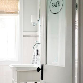 Entrance foyer behr frosted jade - Bathroom vanity with frosted glass doors ...