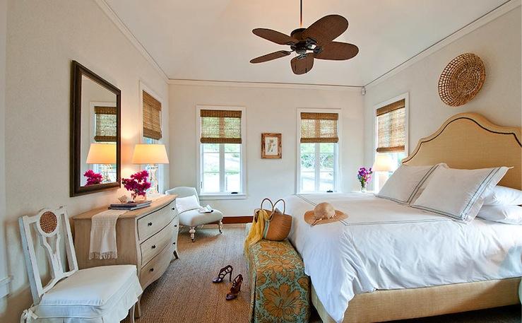 Cottage - bedroom - Elizabeth Newman Interior Design
