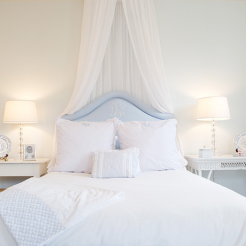 Sheer Bed Canopy, Transitional, bedroom, Elizabeth Newman Interior Design