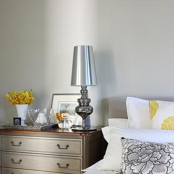 Faux Python Pillow Transitional Bedroom Jamie Herzlinger