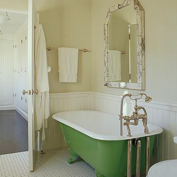 Clawfoot Tub Bathroom Design Ideas - Small bathroom remodel with clawfoot tub