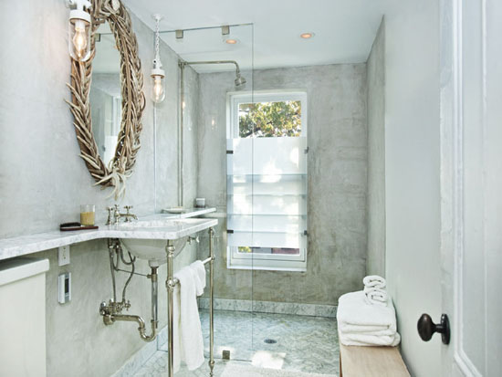 framed white a quotations mirror get an gives linear hint bathroom glossy elegant frame the oval curves of