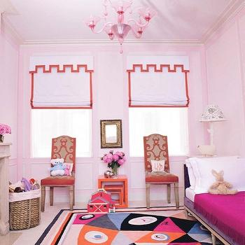 Pink Trim Design Ideas