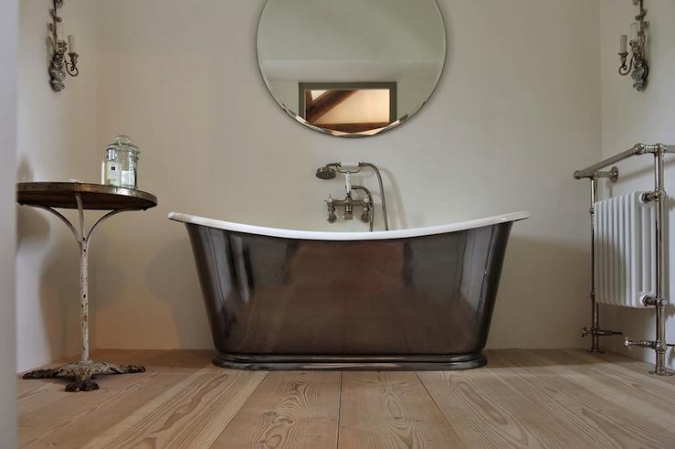 Waterworks Candide Tub Transitional Bathroom