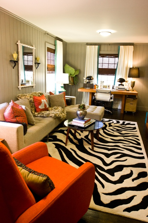 Zebra Rug Design Ideas