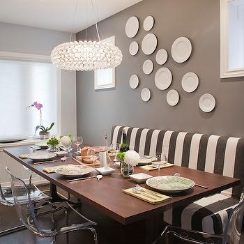 Gray Rooms, Contemporary, dining room, Leslie Goodwin Photography