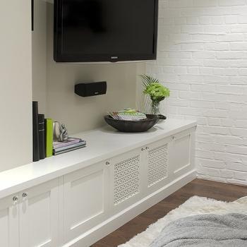 built in media cabinet design ideas. Black Bedroom Furniture Sets. Home Design Ideas