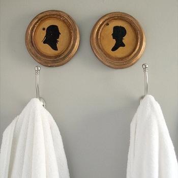 Gray Bathroom Colors, Cottage, bathroom, Glidden Fossil Grey, 320 Sycamore
