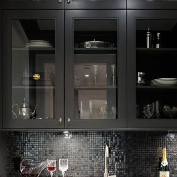 Butler Pantry Cabinets, Contemporary, kitchen, Kelly Deck Design