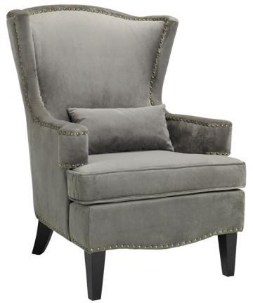 Testoni Wing Back Chair   Arm Chairs   Seating   Living Room   Furniture    HomeDecorators.com
