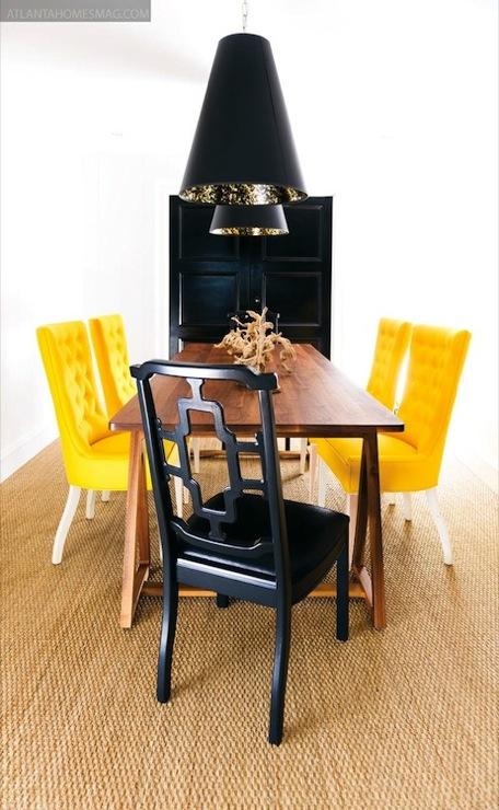 yellow velvet chairs design ideas