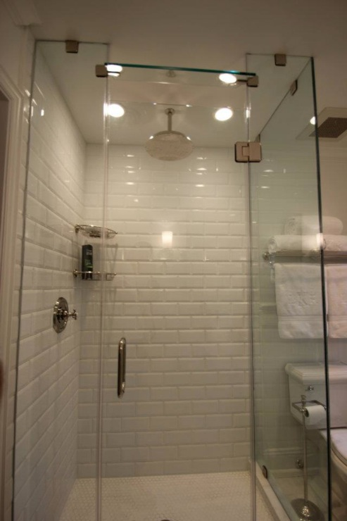 Brick Style Bathroom Tiles Contemporary Bathroom