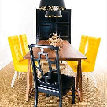 Tufted Dining Chair, Contemporary, dining room, Pieces Inc