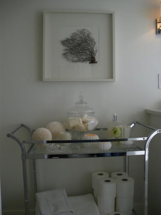 Elegant Bathroom Accessories Transitional Bathroom Moth Design