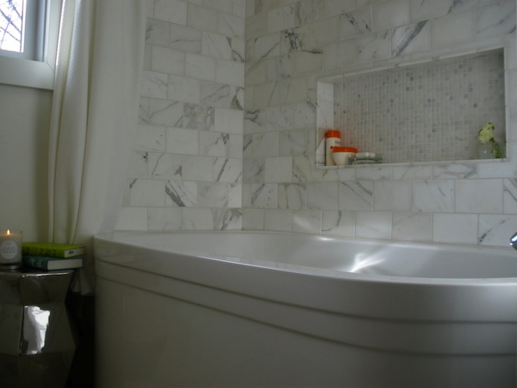 Calcutta Marble Contemporary Bathroom Moth Design