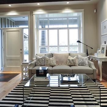 Lucite Coffee Table, Contemporary, living room, Andrea Johnson Design