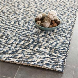 natural fiber area rug in blue and ivory safavieh area rugs by safavieh burke decor - Martha Stewart Rugs
