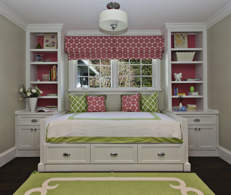 view full size. Built In Daybed With Shelves Design Ideas