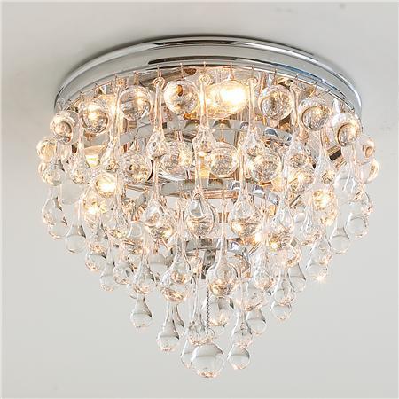 Glamorous Crystal Ceiling Light Shades Of Light
