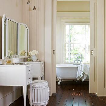 Bathroom Pocket Doors Design Ideas
